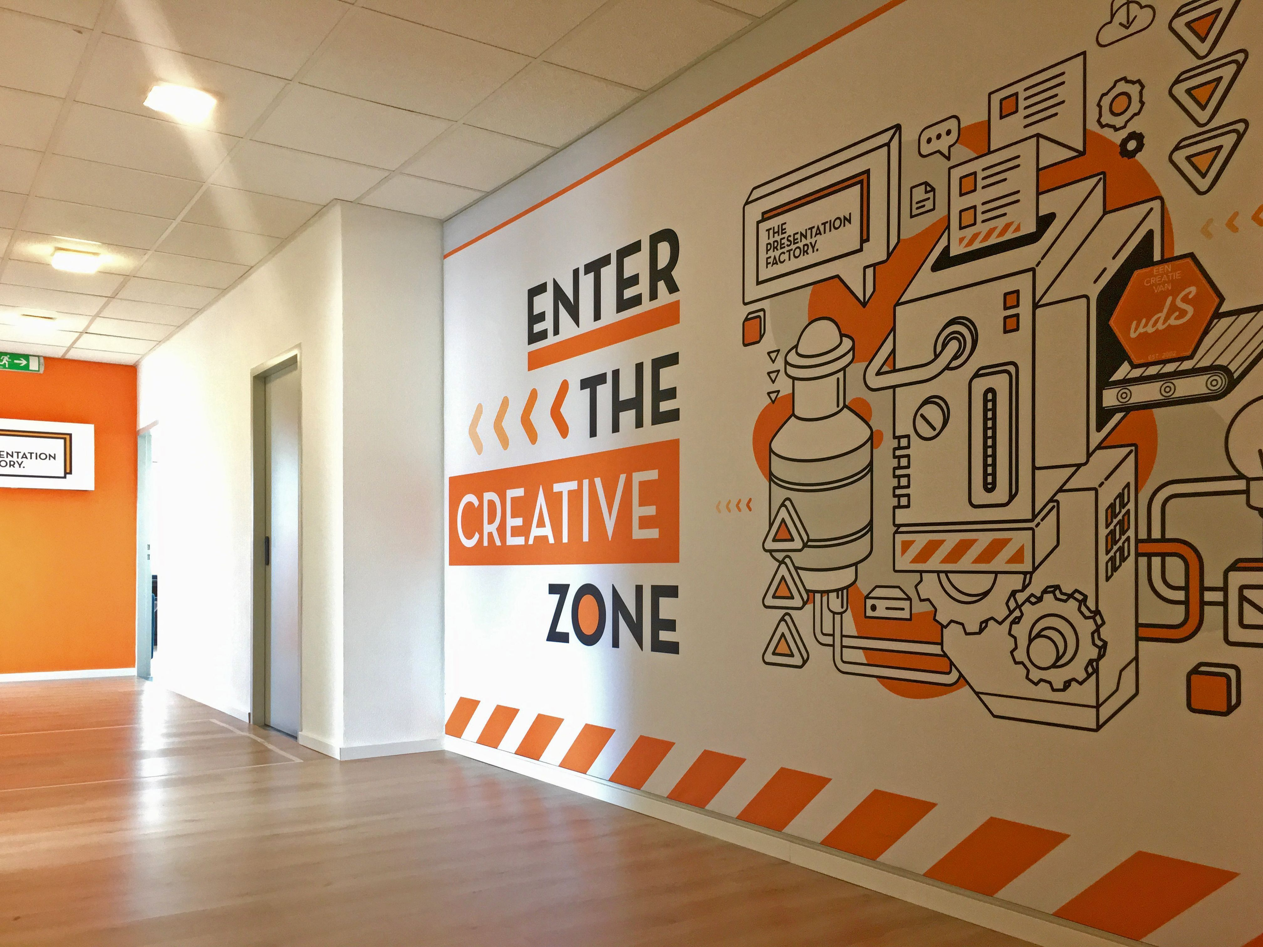 Pin By Anna Marie On Wall Graphics In 2020 Office Wall Design