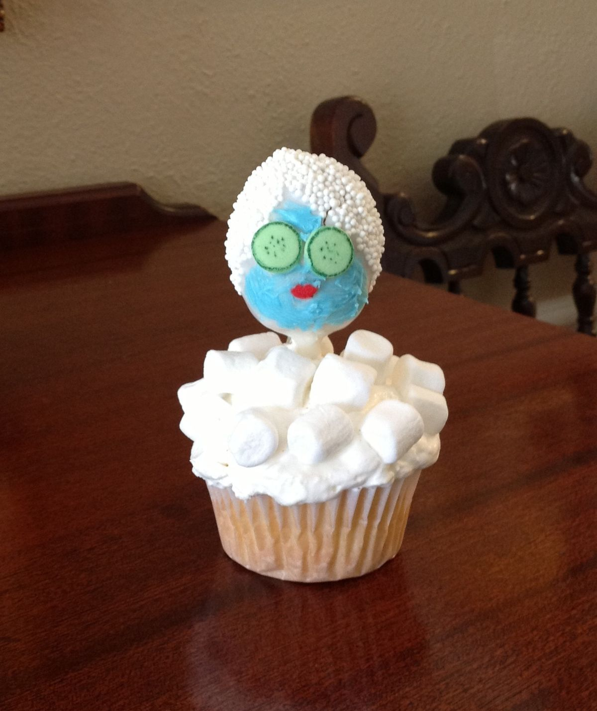 Spa cupcakes Bachlorette Pinterest Spa cupcakes Spa party and