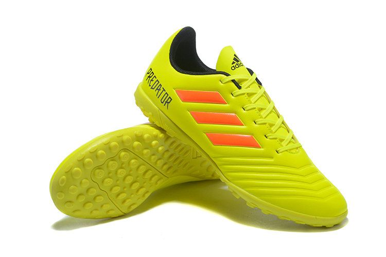 cheap for discount 6a840 cc6a1 Of Quality Adidas Predator Tango 18 4 TF 2018 World Cup Lemon Yellow Orange  Black Mens