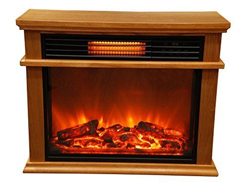 Awesome The Lifesmart Infrared Fireplace Can Be Installed Anywhere Since No Venting  Is Required. Imagine The