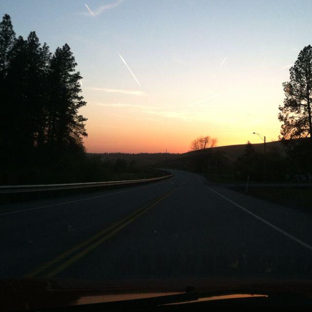 Driving to Josh's