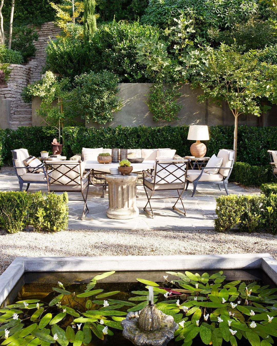 Architectural Digest On Instagram Since Establishing His Paris Based Architecture And Interior Design Firm At Age 26 Nearly Backyard Landscape Design Patio
