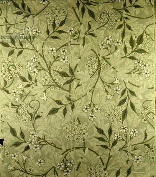 Jasmine' wallpaper design, 1872 William Morris design