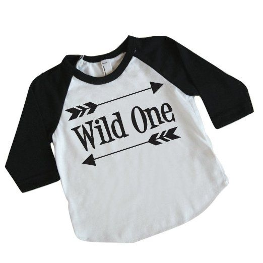 Boy First Birthday Outfit, First Birthday Shirt, Wild One Shirt (12-18 Months) by Bump and Beyond Designs