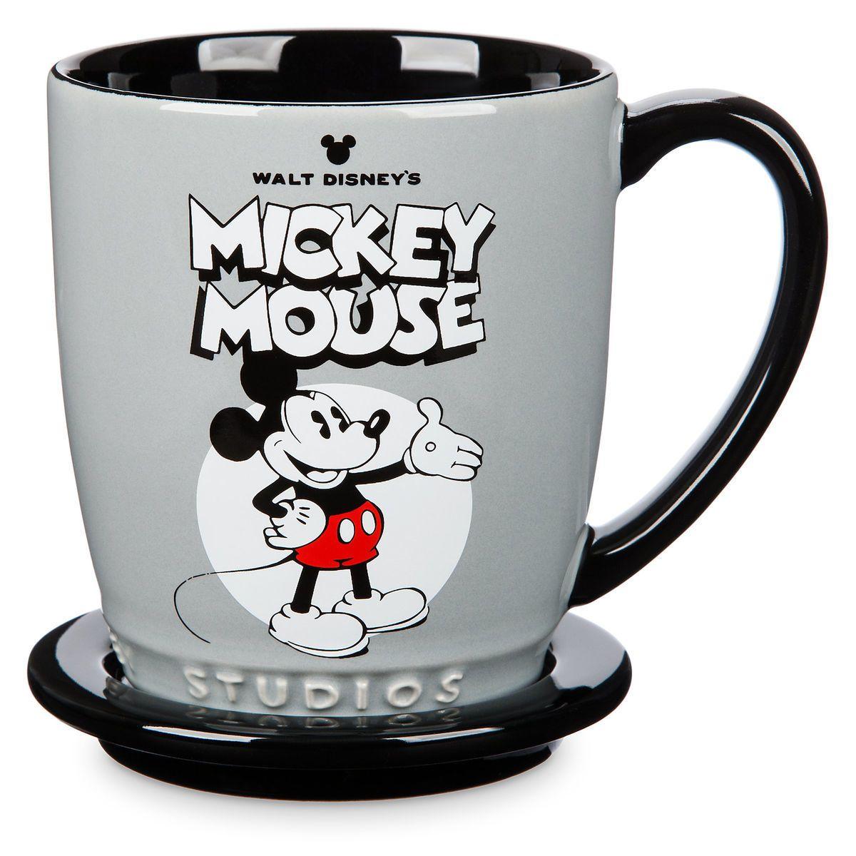 363ea3dd8c681 Mickey and Minnie Mouse Mug and Coaster Set - Walt Disney Studios in ...