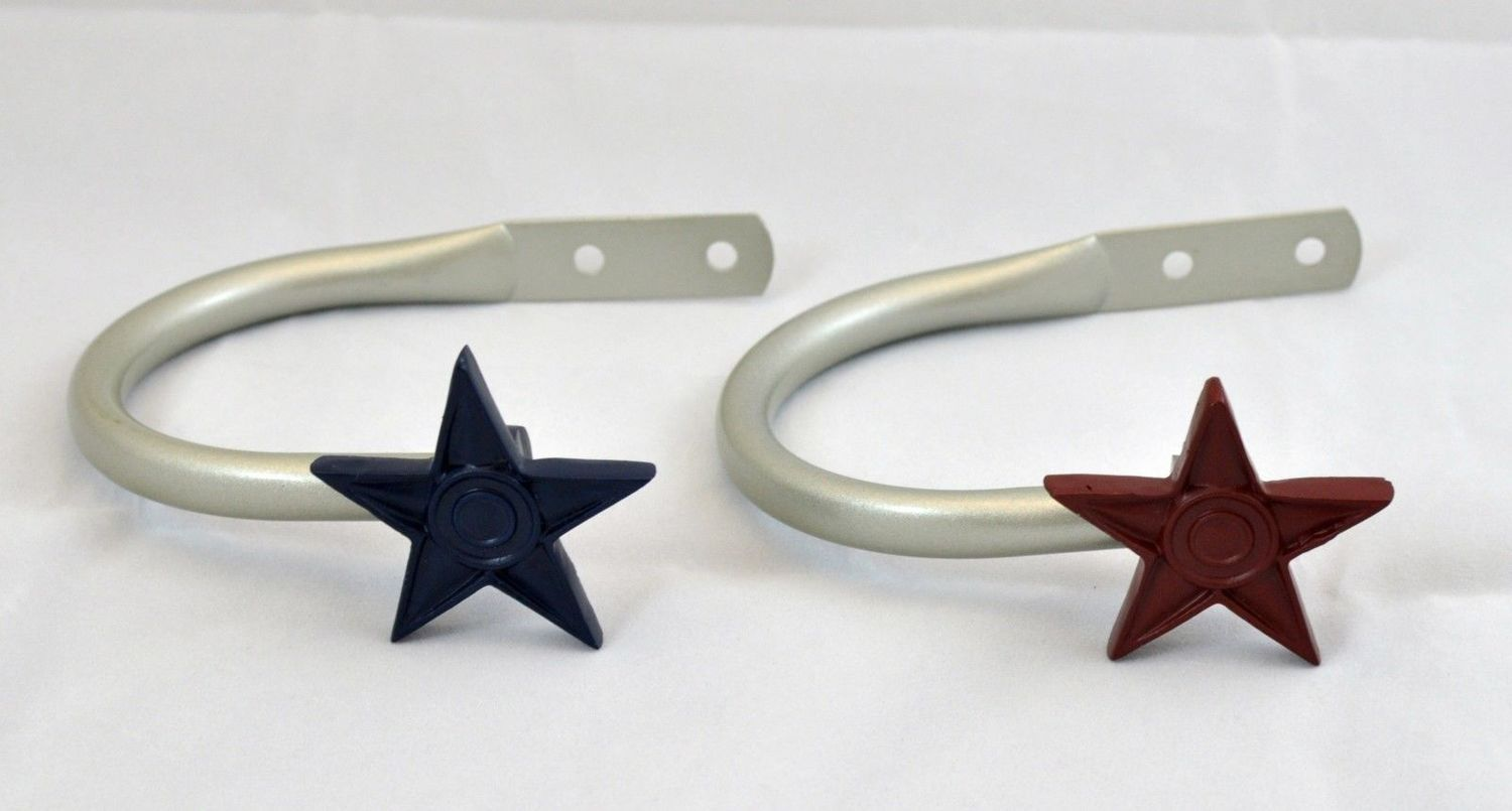 Our Pewter Star Holdbacks Come In 2 Colors Check Out The Matching