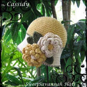 SweetSavannah (2T-4T) CLOCHE .... 'CASSIDY'