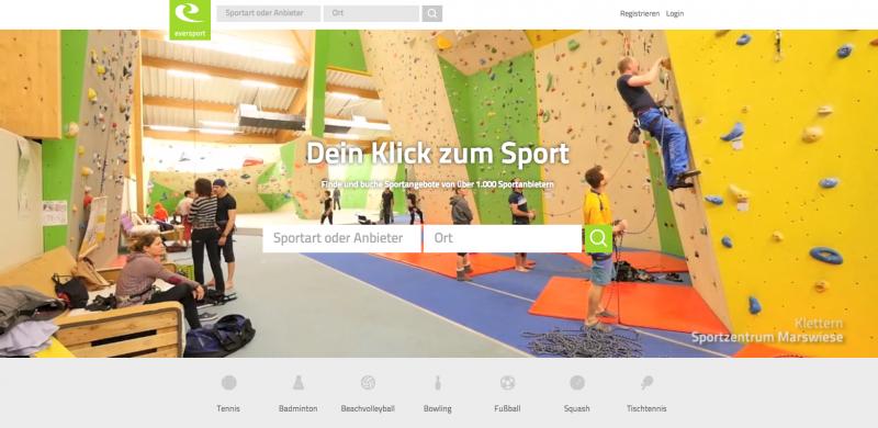 #Startup vorgestellt: Eversport  Finde und buche Sportangebote online