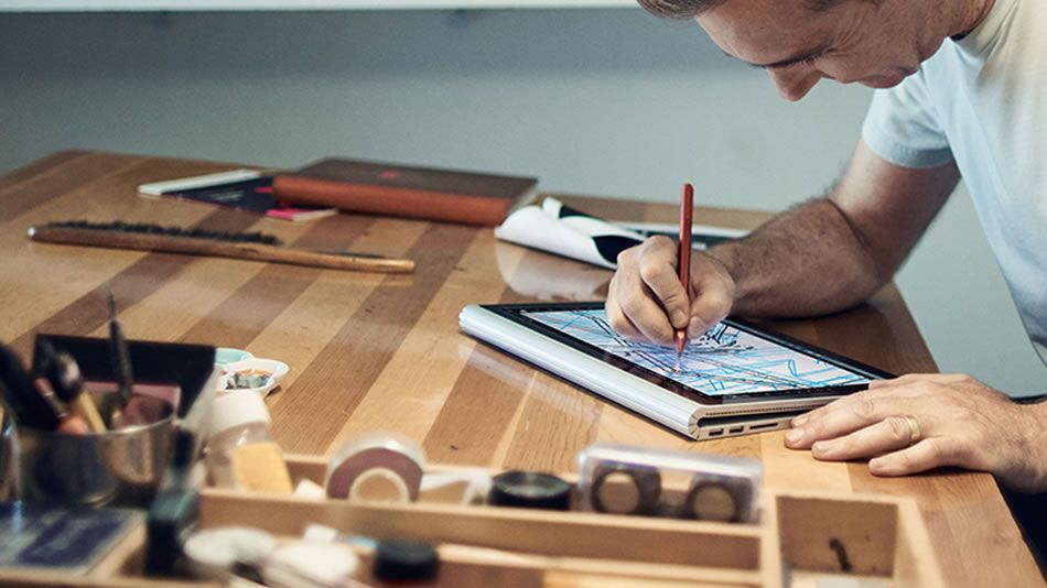 microsoft surface book joins creative laptop scene selling out in five days creative