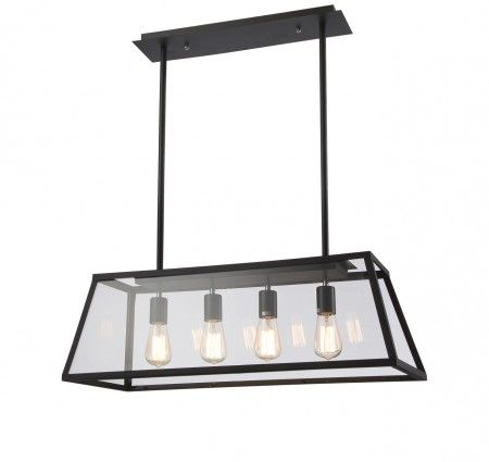 Lancaster Iron Pendant Light