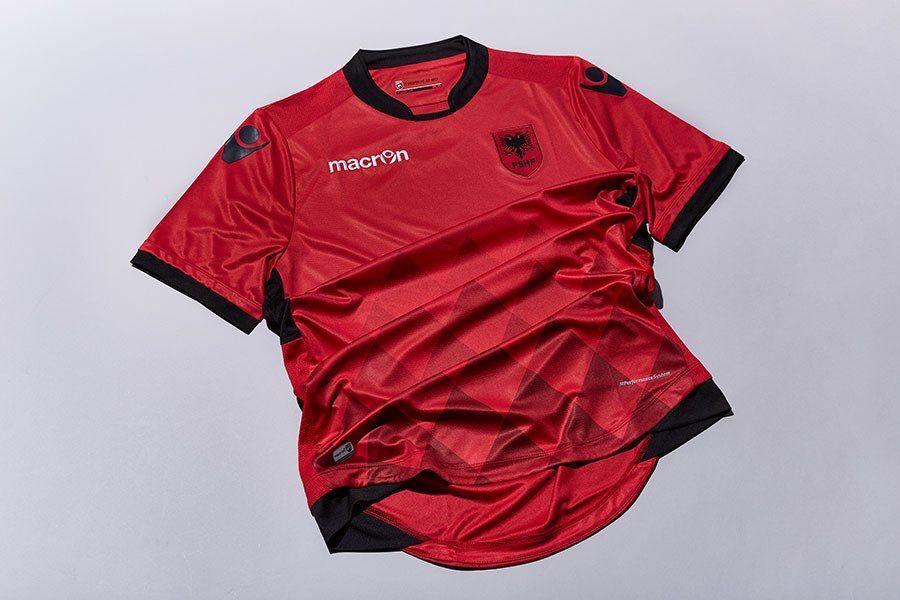 080b6542cab Albania 2017 2018 Home Kit. Albania 2017 2018 Home Kit Football Kits
