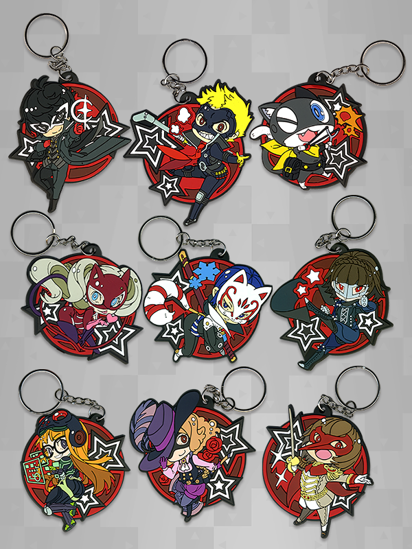 Persona 5 - Phantom Thieves Keychains   Things I Want   Persona 5