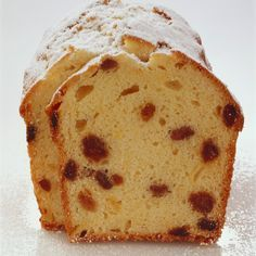 This spiced sultana cake recipe from BakingMad.com is so easy to make and really versatile, too! You can adapt to your preferred taste.