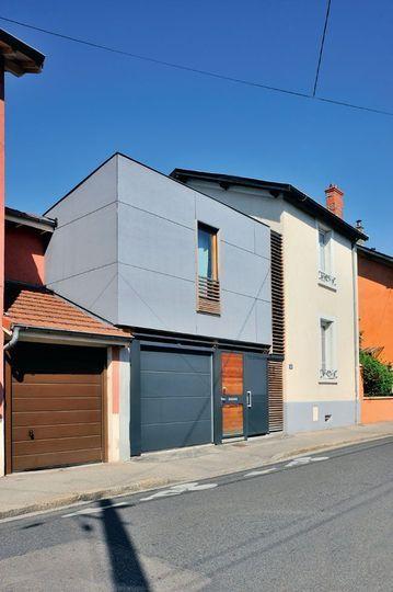 Une extension de 50m2 pour une maison de ville Extensions