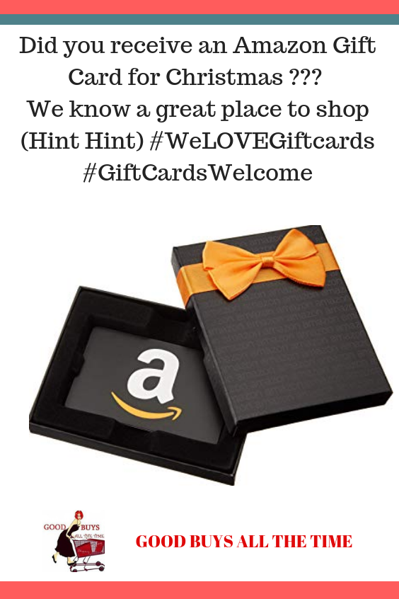 Did You Receive An Amazon Gift Card For Christmas We Know A Great Place To Shop Hint Hint Weloveg Amazon Gift Card Free Amazon Gift Cards Amazon Gifts