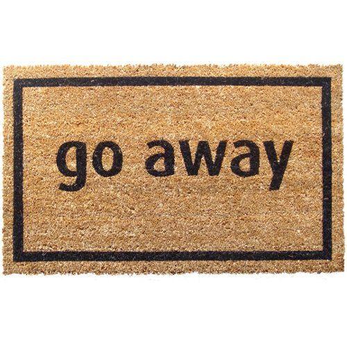 "Standard Thickness Coir Go Away Coconut Fiber Doormat Size: 1'6"" x 2'6"" Entryways http://www.amazon.com/dp/B002VYKFAI/ref=cm_sw_r_pi_dp_C5q3vb0Z9WBVV"