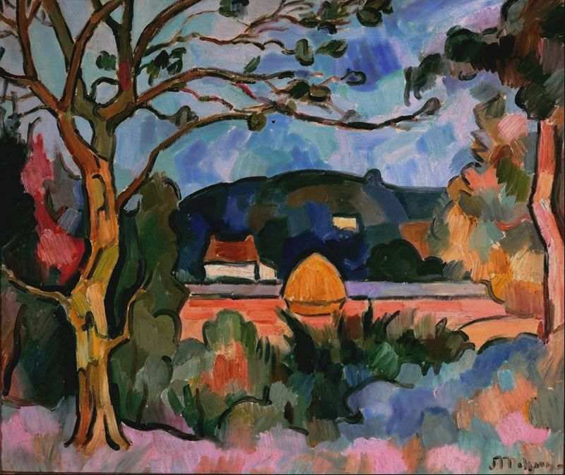 Neo Impressionism Artists: Jean Metzinger Neo-Impressionism, Divisionism, Fauvism