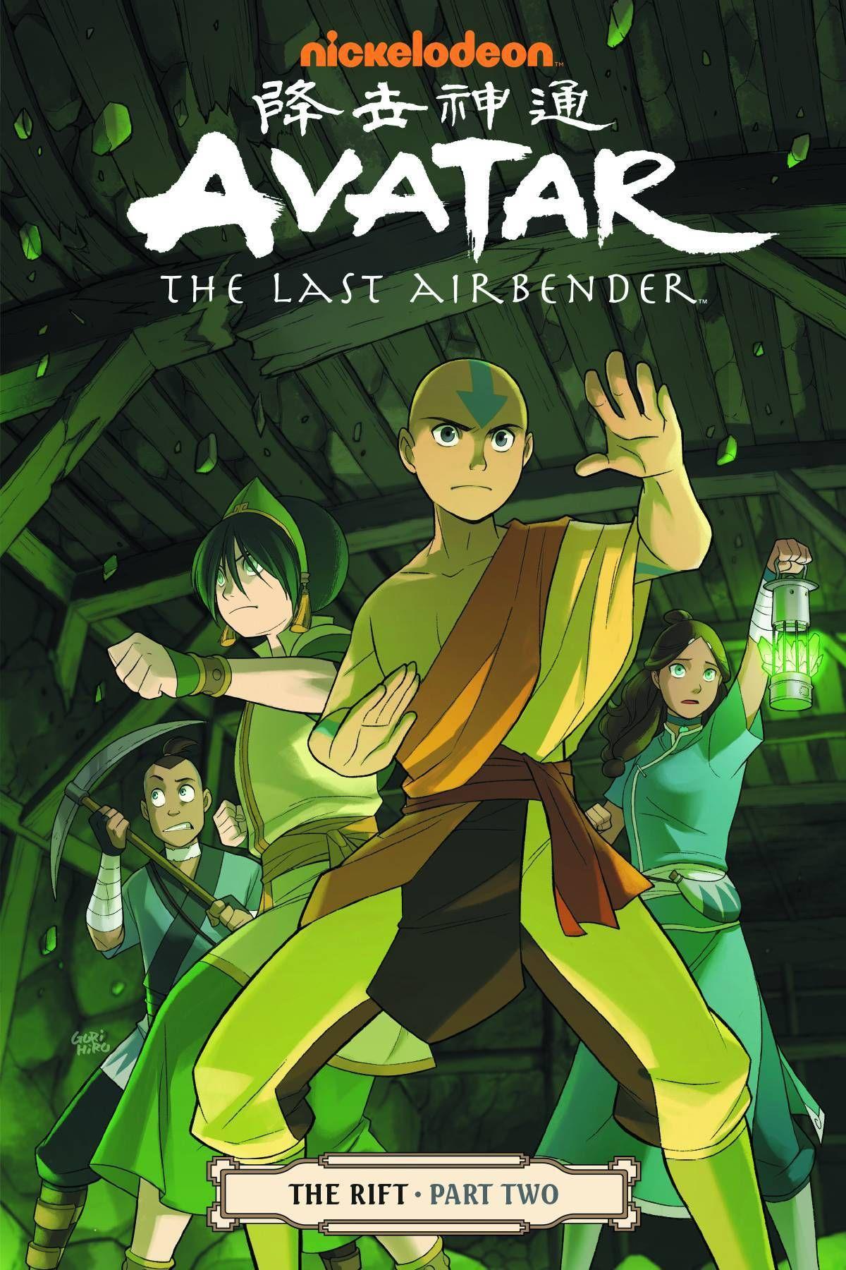 Avatar Last Airbender Tp Vol 08 Rift Part 2 C 1 0 0 Avatar Aang Personajes De Avatar Avatar