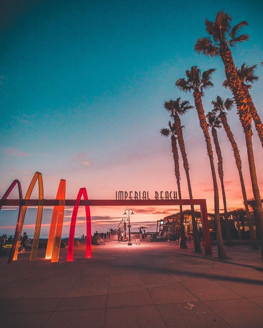 Imperial beach by eric scire