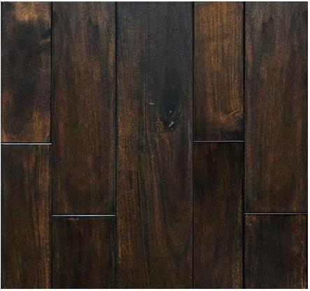 Dark wood floor acacia engineered flat hardwood flooring Dark wood floors
