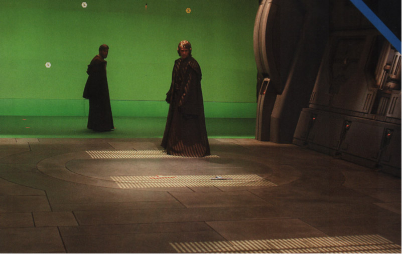 Green Screen Ewan Mcgregor Obi Wan Hayden Christensen Greenscreen