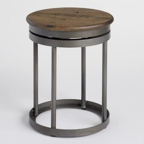 Pin By Carrie Bach On Kitchen Industrial Stool Stool Metal
