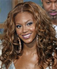 Beyonce Knowles Long Curly Brunette Hairstyle Beyonce Hair Hair Color For Dark Skin Hair Color For Dark Skin Tone