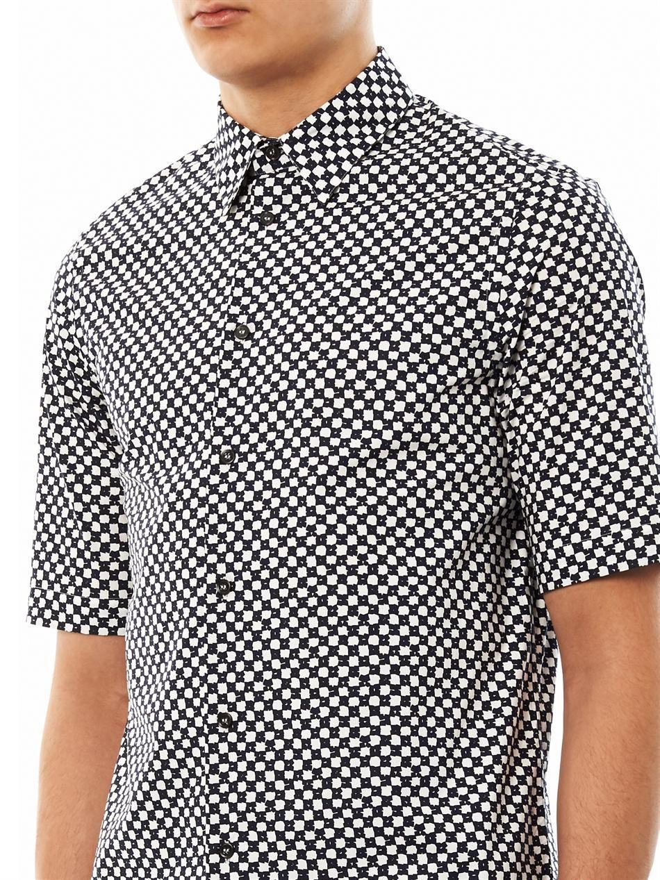 Micro cube-print shirt | Marni | MATCHESFASHION.COM