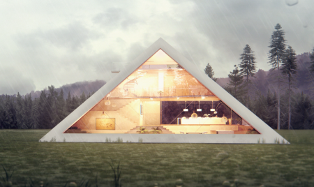 The Pyramid House By Juan Carlos Ramos