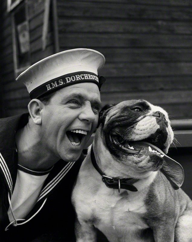 Normand And Pal Norman Wisdom Bulldog Breeds British Bulldog