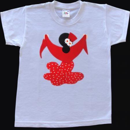 Flamenca Camisetas Patchwork Imagenes De Camisetas Camisetas