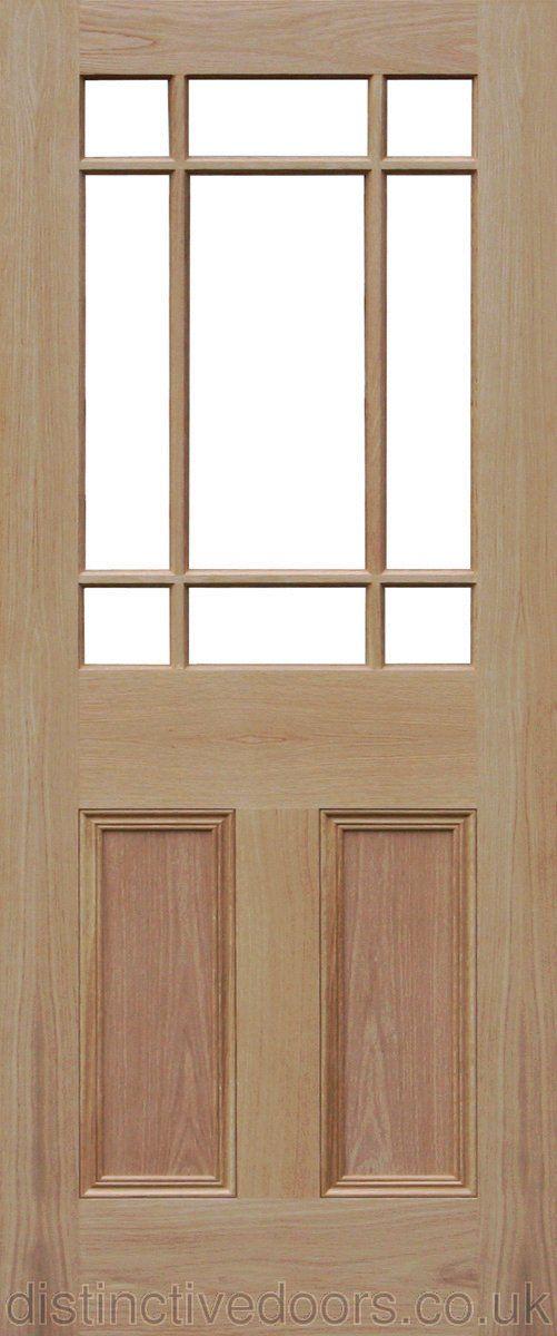 Downham Flat Panel Unglazed Interior Oak Door Oak Doors Doors And