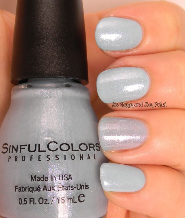 Sinful Colors From Sheer to Eternity over Tidal Wave | Be Happy And ...