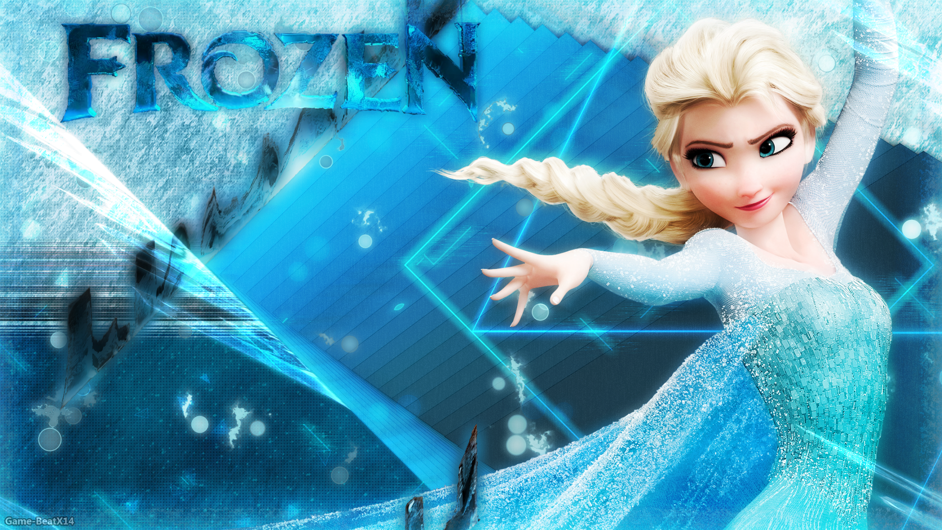 Frozen Wallpaper By Game Beatx14deviantartcom On At Deviantart