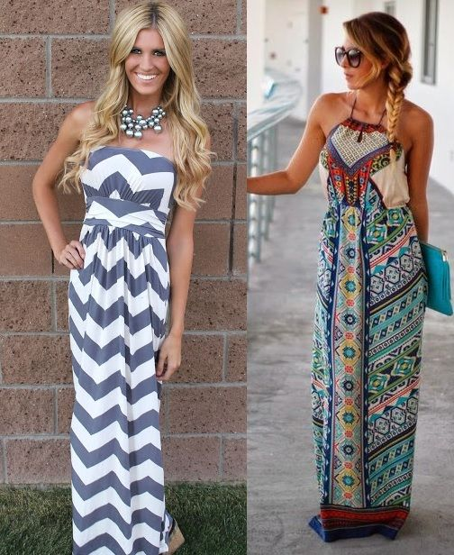 bc63c9b5c4a3 Women s maxi dresses have made overwhelming comeback fellas! Strapless