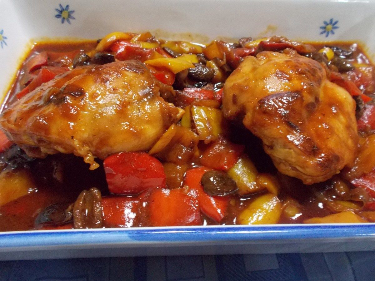 Photo of Rabbit with stewed peppers, hunter-like – Magna e T …