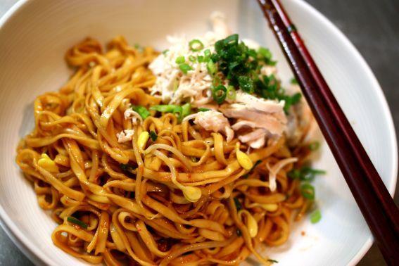 Bak Chor Mee Mince Meat Noodles Halal Version Singapore Food Recipes Halal Recipes Food Singapore Food