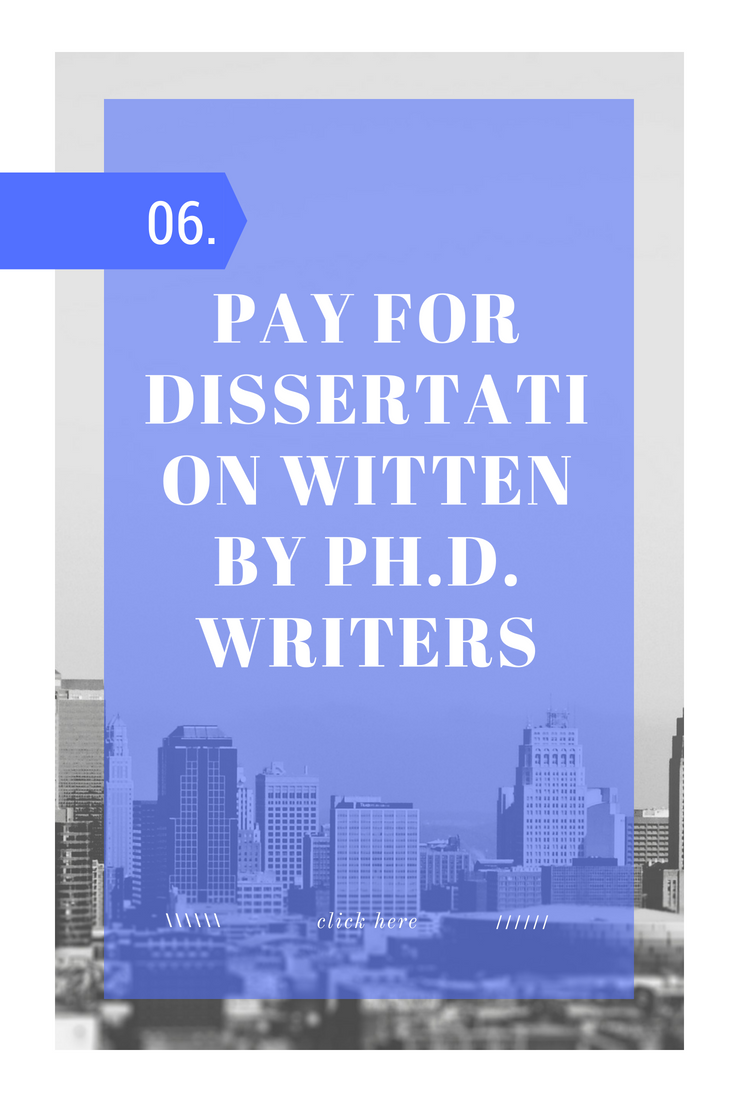 Dissertation writing for pay novels