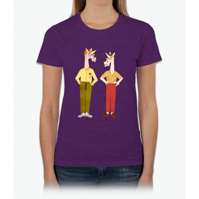 Revenge Of The Nerdicorns Unicorn Womens T-Shirt