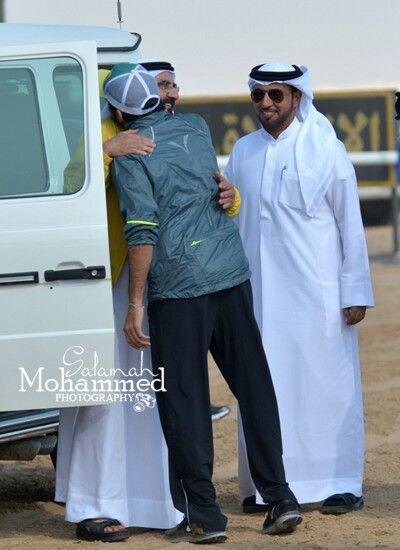 الشيخ محمد بن راشد ال مكتوم و الشيخ حمدان بن محمد بن راشد ال مكتوم فزاع My Prince Equestrian Events Celebrities