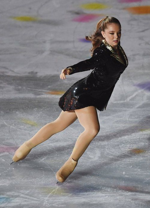 "On Sunday (September 21), Princess Alexandra of Hannover showed her figure skating skills at the ""Intimissi Opera on Ice"" in Verona (Italy).  source: Bunte.de"