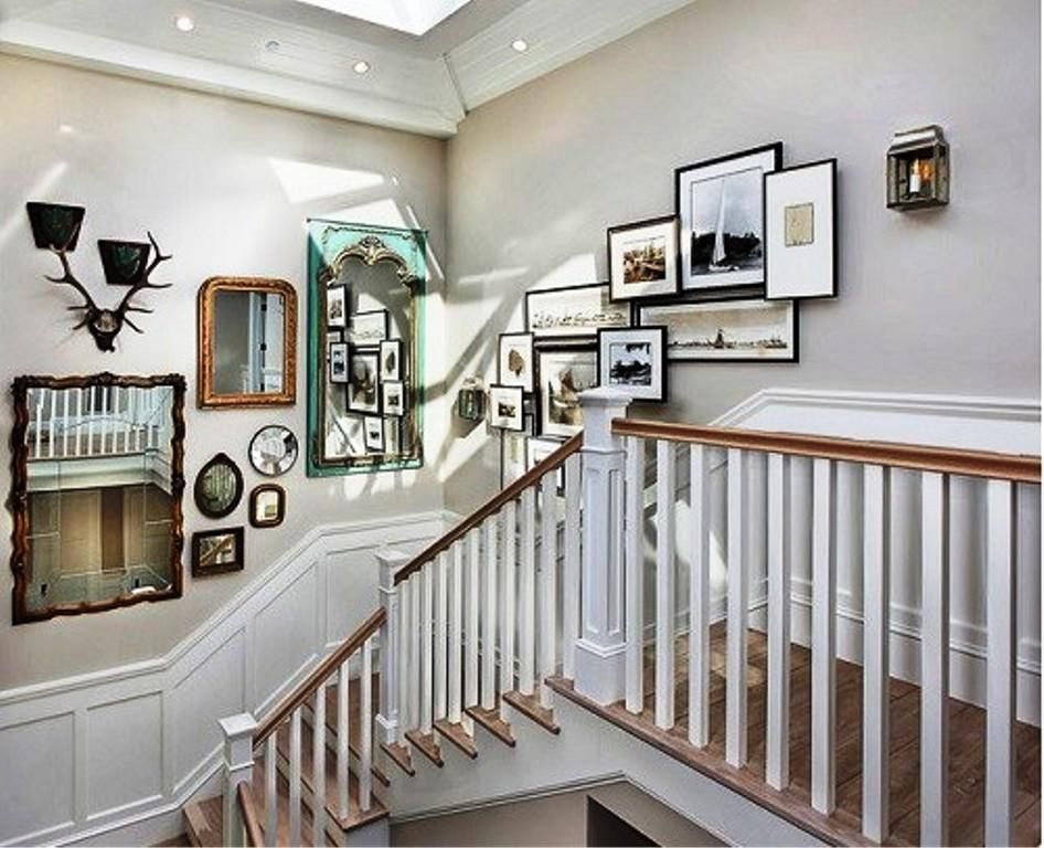 Feng Shui Stairway Wall Decorating Ideas - http://wall ...