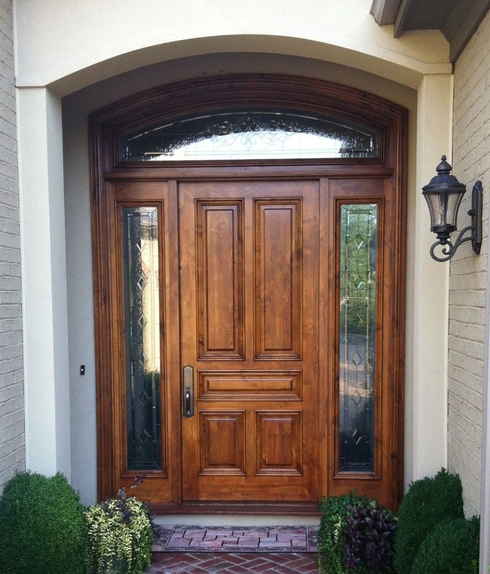 Exterior Wood Front Entry Doors Beautiful Entrance Of Your House