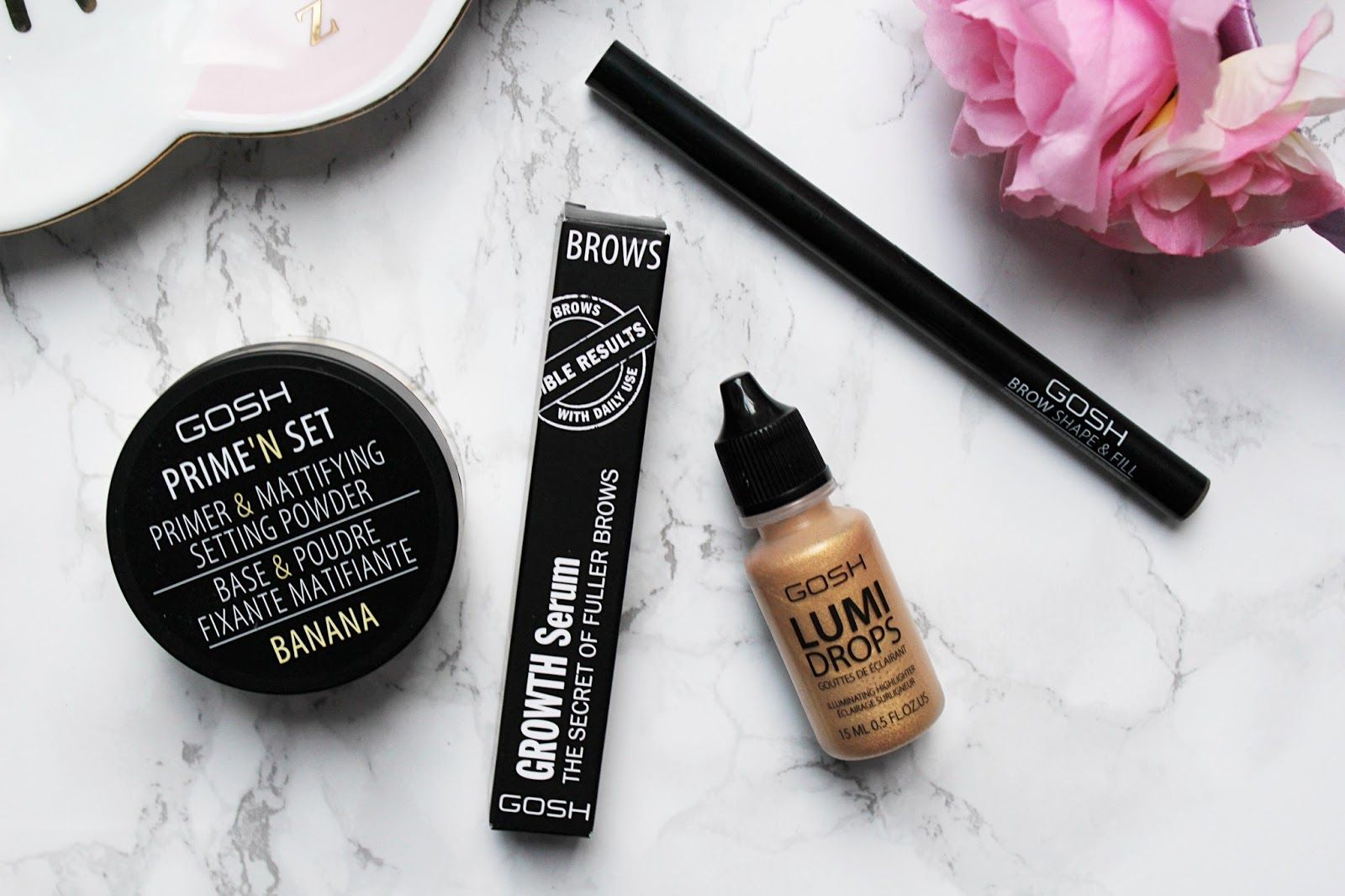 GOSH Makeup Must Haves Makeup must haves, Setting powder