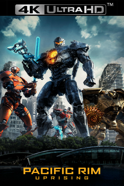 Pacific Rim: Uprising - Vudu HD4K or iTunes 4K via MA (Digital Code