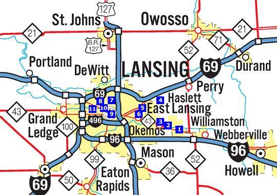 Greater Lansing Area Foodie Tour I Love Michigan Pinterest