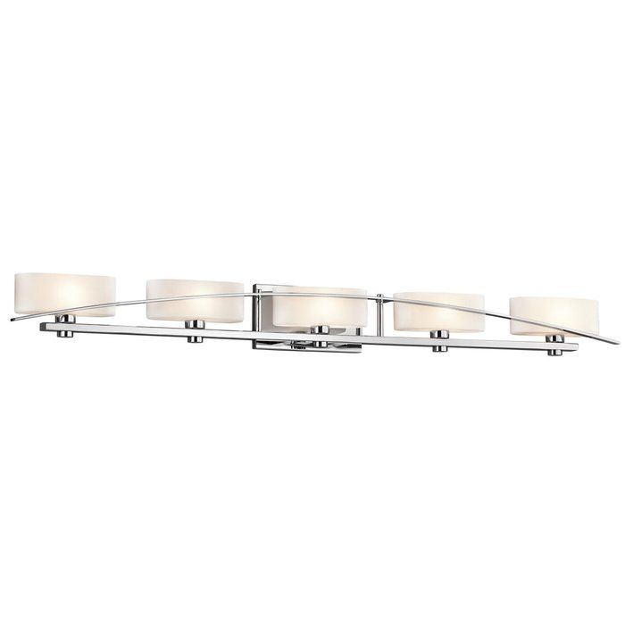 Newry Light Vanity Light Vanities And Lights - Chrome 5 light bathroom fixture