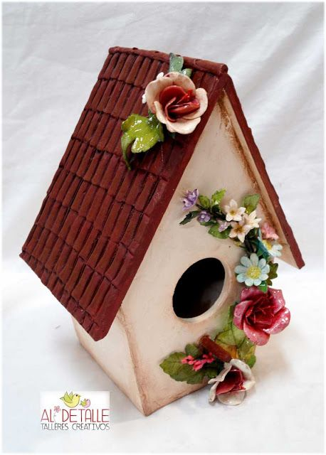 Rosabel manualidades casitas para p jaros houses and birds houses pinterest casa para - Rosabel manualidades ...