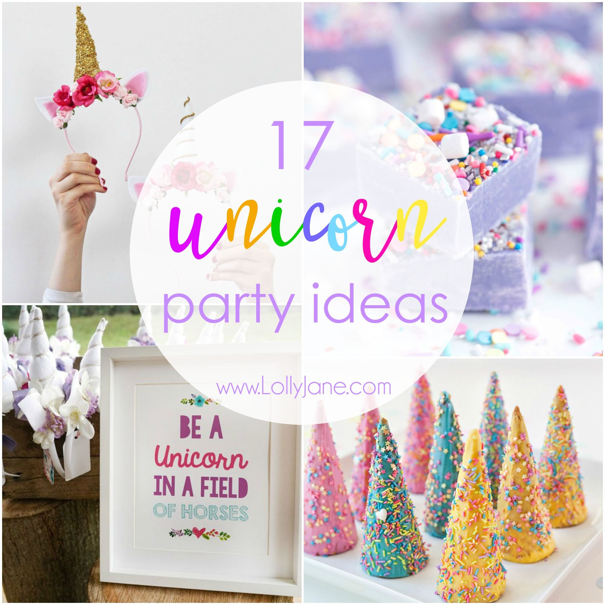 17 Unicorn Party Ideas To Throw The Ultimate Unicorn Party | Unicorn ...