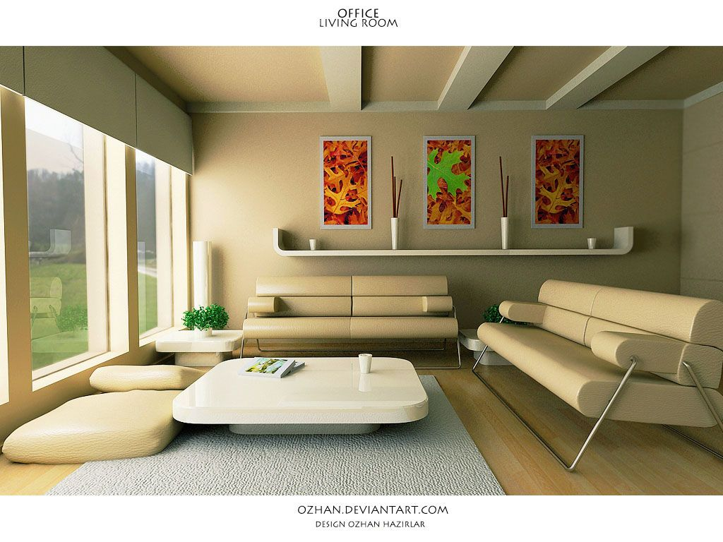 A Living Room Design Ozhan Deviantart #interior #design #furniture  Interior Design